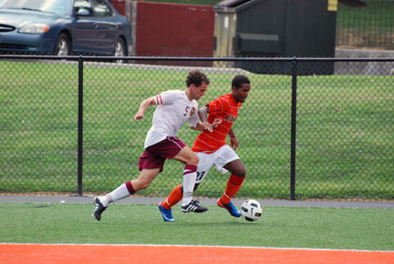 16th M Soccer vs. Emmanuel Photo