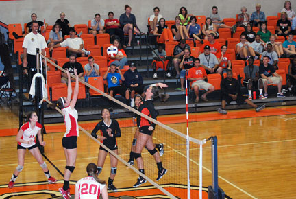 12th VB vs. Bryan Photo
