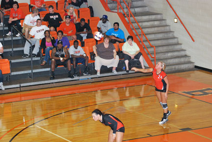 27th VB vs. Bryan Photo