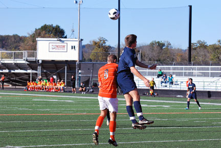 9th MSoc vs.Montreat Photo