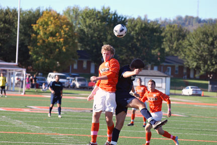 23rd MSoc vs.Montreat Photo