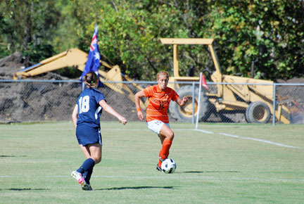 4th WSoc vs. Montreat Photo