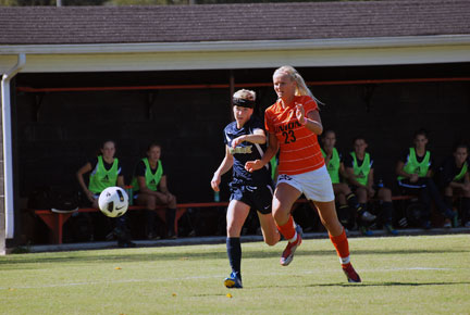 5th WSoc vs. Montreat Photo