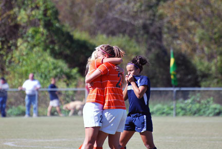 9th WSoc vs. Montreat Photo