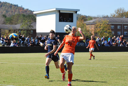 12th WSoc vs. Montreat Photo