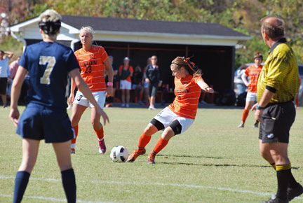 19th WSoc vs. Montreat Photo