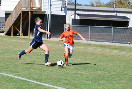 22nd WSoc vs. Montreat Photo
