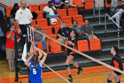 20th VB vs. Bluefield Photo