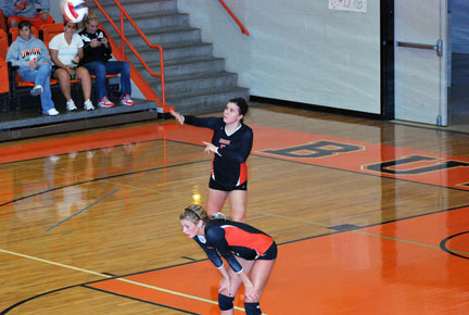 22nd VB vs. Bluefield Photo