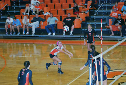 31st VB vs. Bluefield Photo