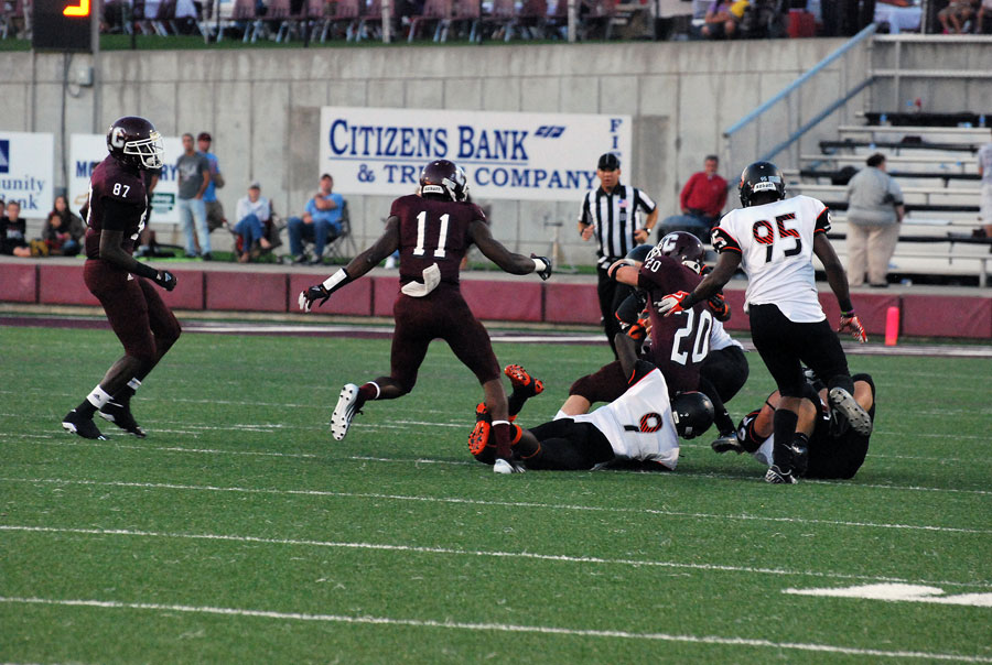 15th Football vs. Campbellsville Photo