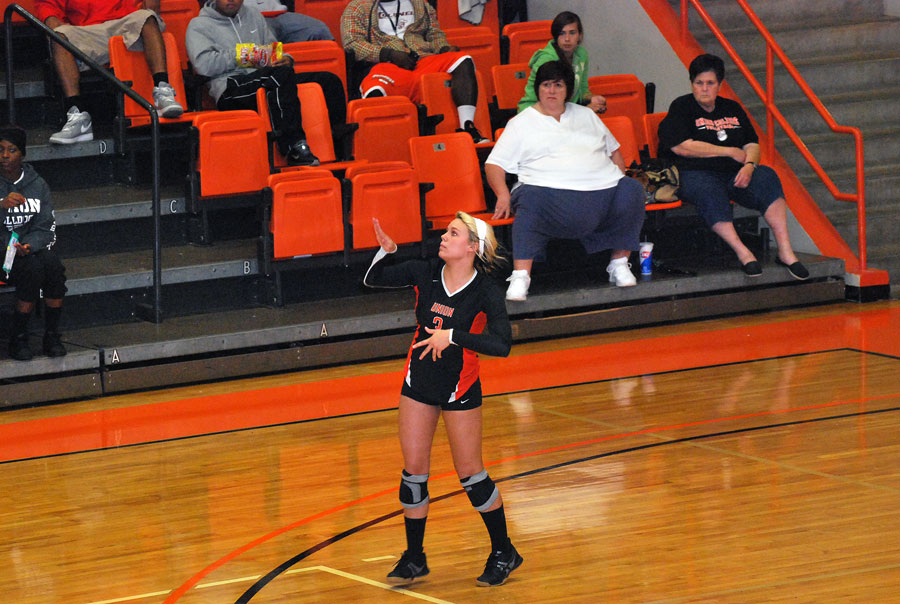 3rd VB vs. Pikeville Photo