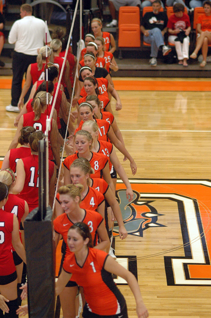 1st Volleyball vs. UVa-Wise Photo