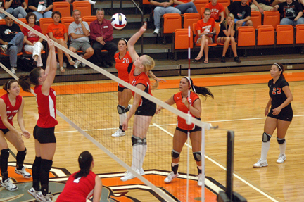 21st Volleyball vs. UVa-Wise Photo