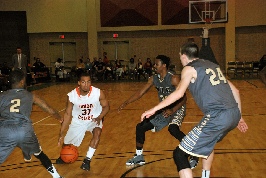 3rd MBB vs. Virginia Intermont AAC Tournament Photo