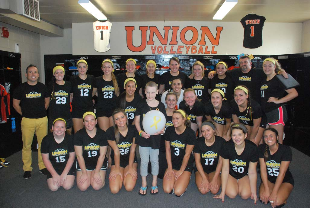 5th VB vs. Point (Childhood Cancer Awareness Match) Photo