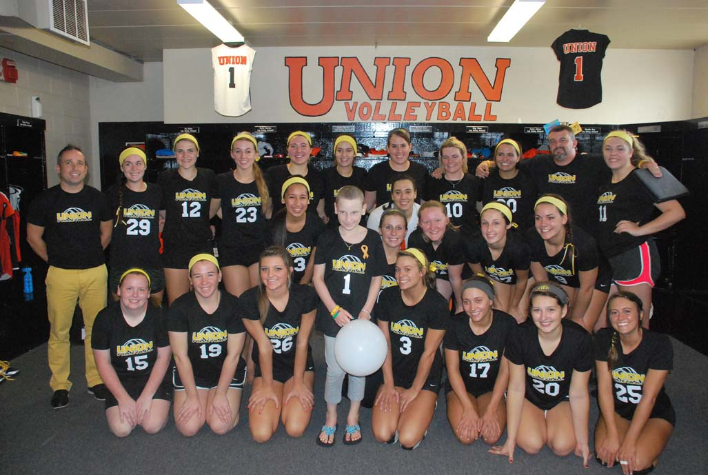 6th VB vs. Point (Childhood Cancer Awareness Match) Photo