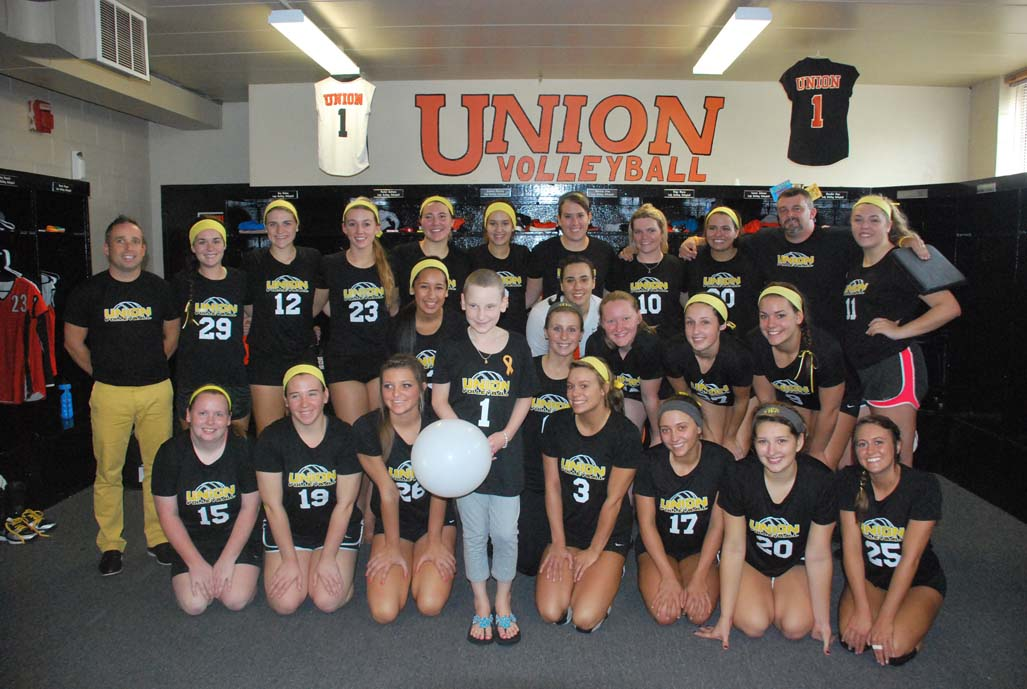 7th VB vs. Point (Childhood Cancer Awareness Match) Photo