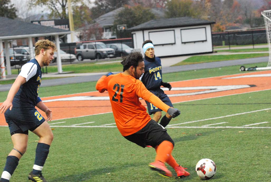 9th MSoc vs. Point Photo