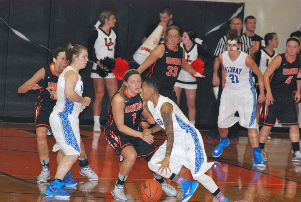 1st WBB vs. Midway Photo