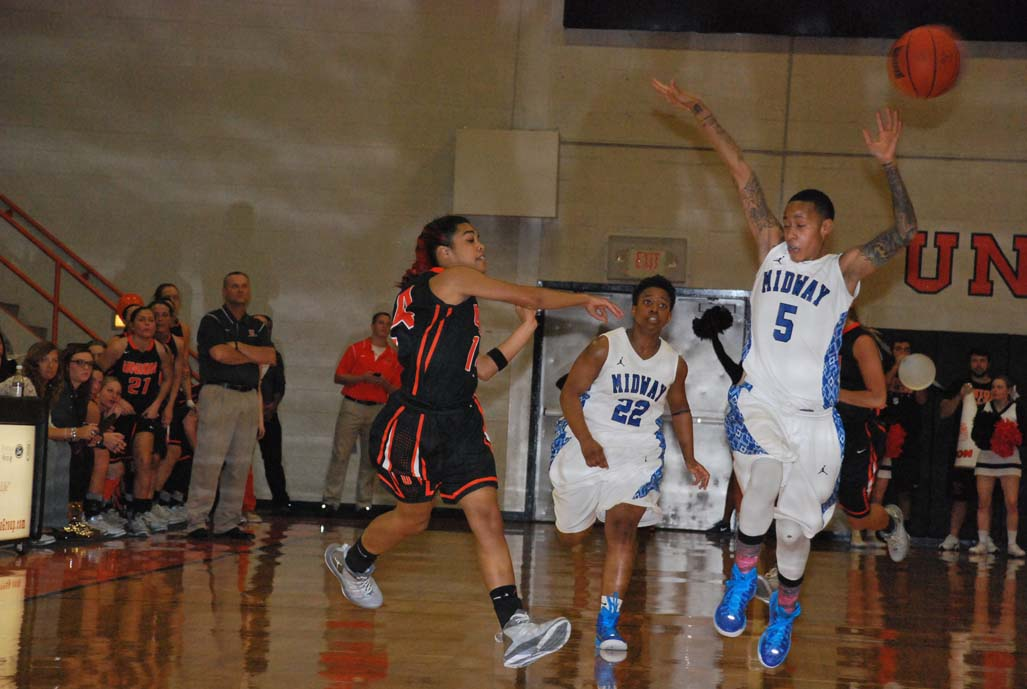 13th WBB vs. Midway Photo