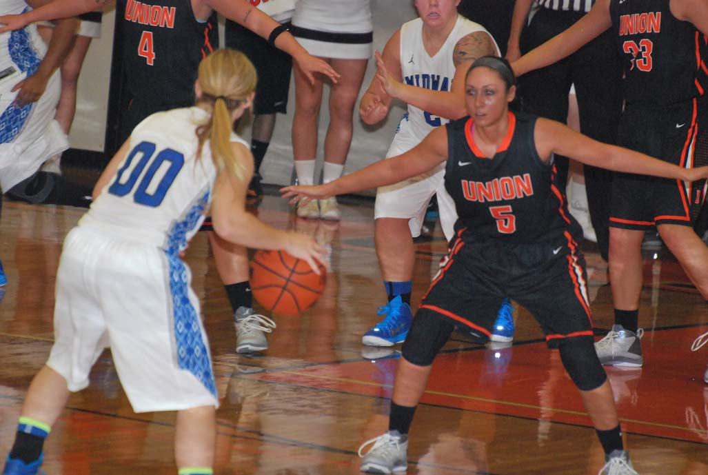 16th WBB vs. Midway Photo