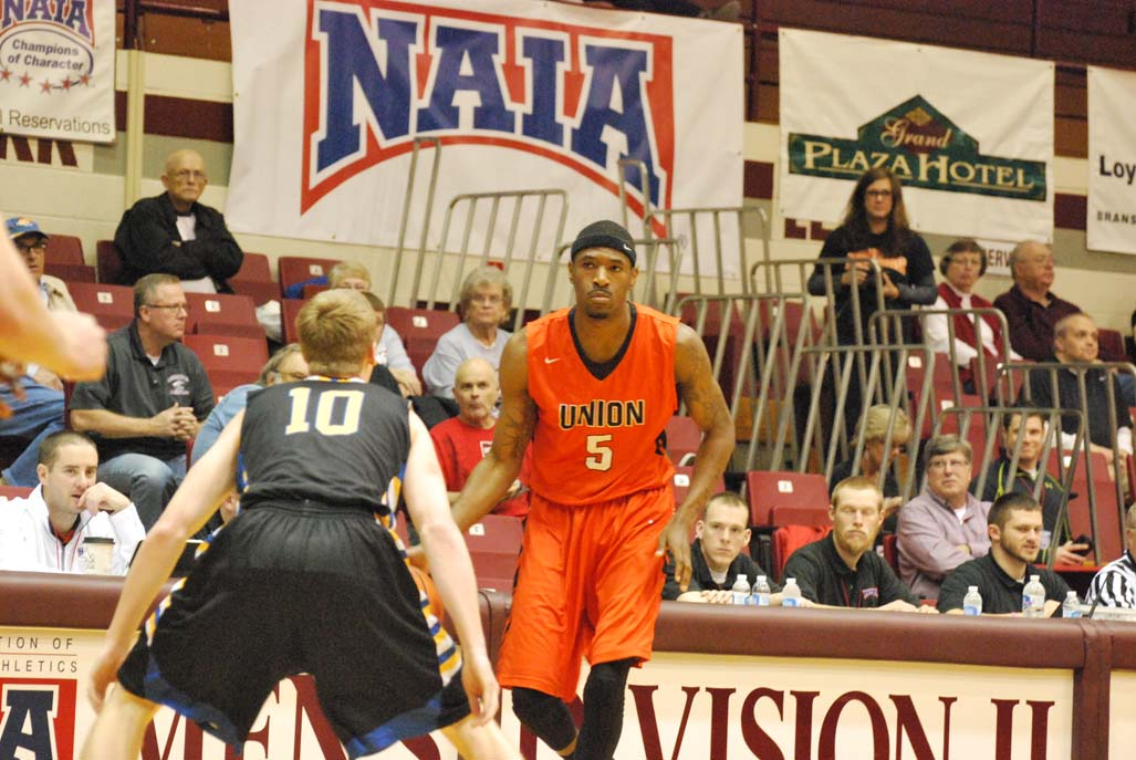 8th MBB - vs. Embry-Riddle; NAIA National Tournament, Second Round Photo