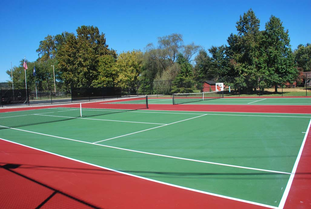 4th Union Tennis Courts Photos Photo