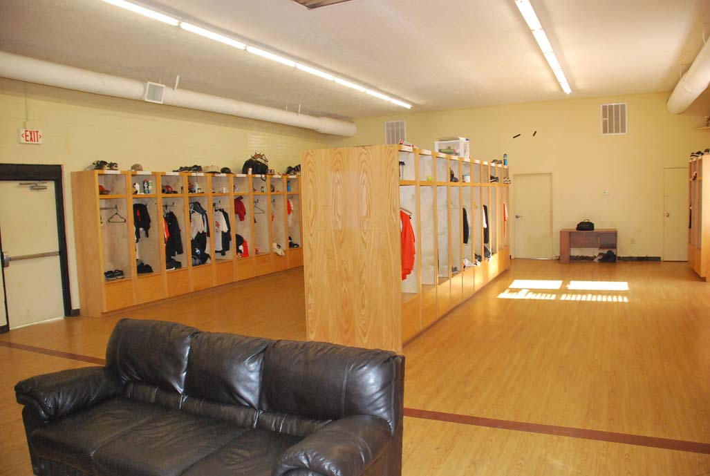 6th Jerry Carey Stadium At Harlan Sanders Field Baseball Locker Room Photo