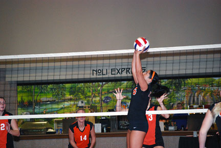 2nd Volleyball vs. Milligan-AAC Tourney Photo