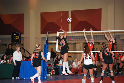 3rd Volleyball vs. Milligan-AAC Tourney Photo