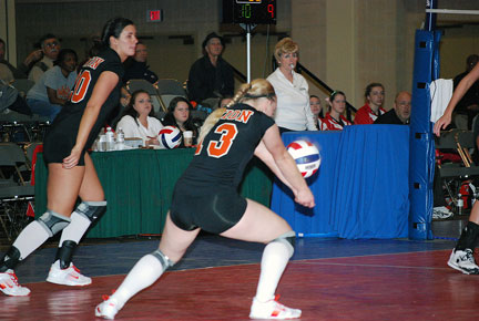 4th Volleyball vs. Milligan-AAC Tourney Photo