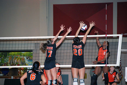 5th Volleyball vs. Milligan-AAC Tourney Photo