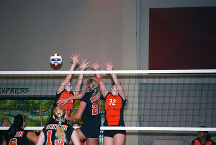 8th Volleyball vs. Milligan-AAC Tourney Photo