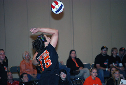 9th Volleyball vs. Milligan-AAC Tourney Photo