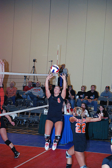 10th Volleyball vs. Milligan-AAC Tourney Photo