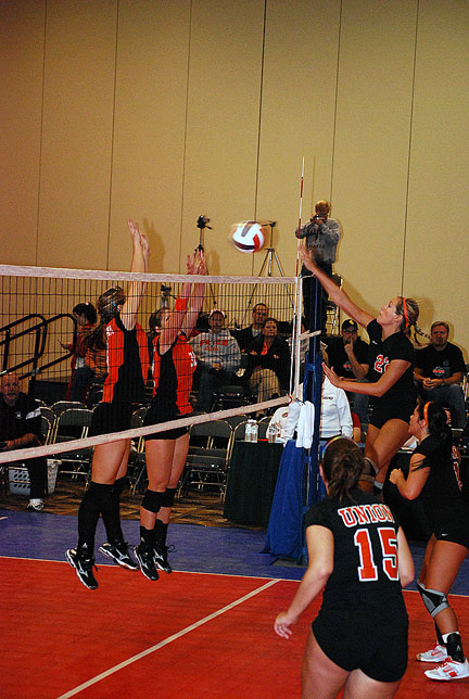 12th Volleyball vs. Milligan-AAC Tourney Photo