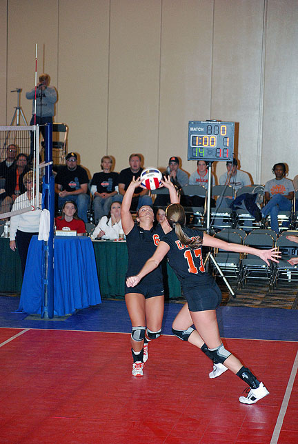15th Volleyball vs. Milligan-AAC Tourney Photo