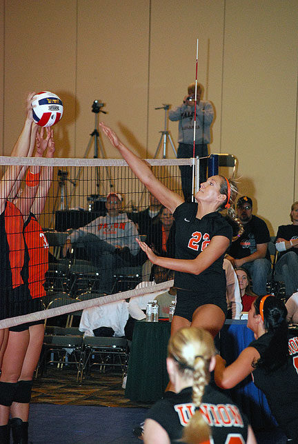16th Volleyball vs. Milligan-AAC Tourney Photo