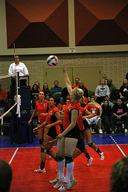 3rd Volleyball vs. Bryan-AAC Tourney Photo