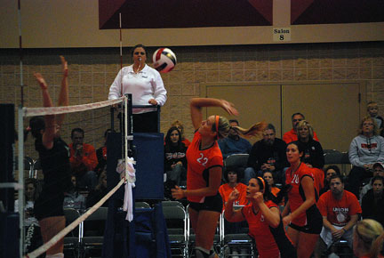 5th Volleyball vs. Bryan-AAC Tourney Photo