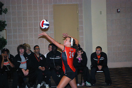 10th Volleyball vs. Bryan-AAC Tourney Photo