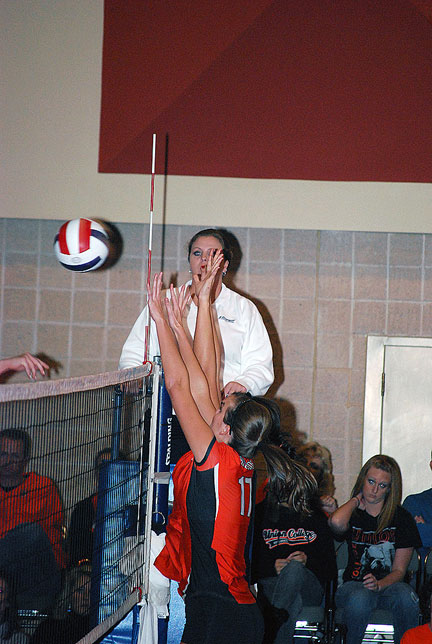 12th Volleyball vs. Bryan-AAC Tourney Photo