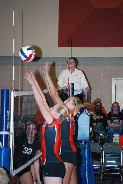 13th Volleyball vs. Bryan-AAC Tourney Photo