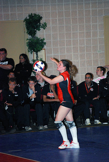 15th Volleyball vs. Bryan-AAC Tourney Photo