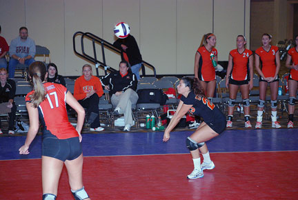 16th Volleyball vs. Bryan-AAC Tourney Photo