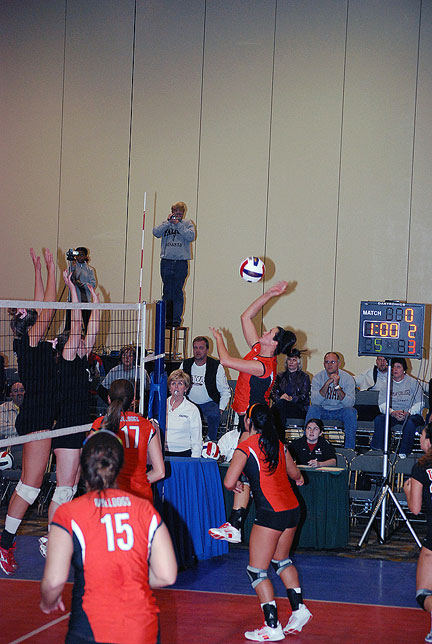 17th Volleyball vs. Bryan-AAC Tourney Photo