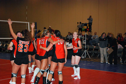 19th Volleyball vs. Bryan-AAC Tourney Photo