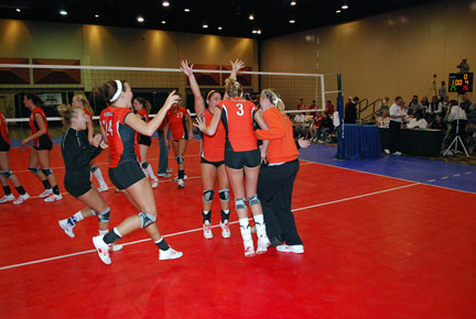 22nd Volleyball vs. Bryan-AAC Tourney Photo