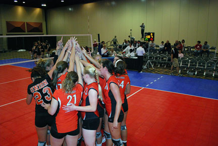 26th Volleyball vs. Bryan-AAC Tourney Photo